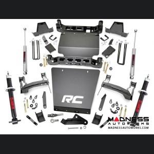 "Chevy Silverado 1500 4WD Suspension Lift Kit w/ Lifted N2.0 Struts & Rear N3 Shocks - 7"" - Aluminum"